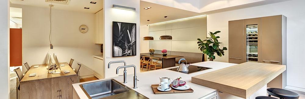 Bulthaup Showroom interior photography dublin