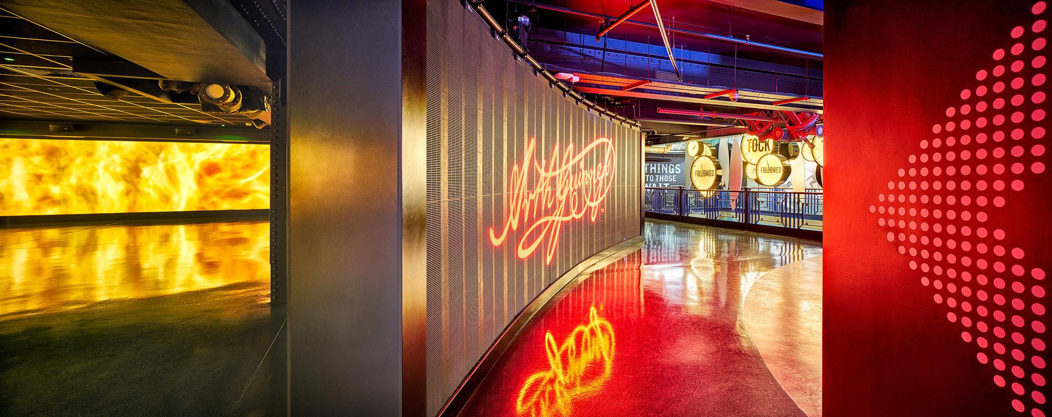 Advertising Floor LED Wall, Guinness Storehouse