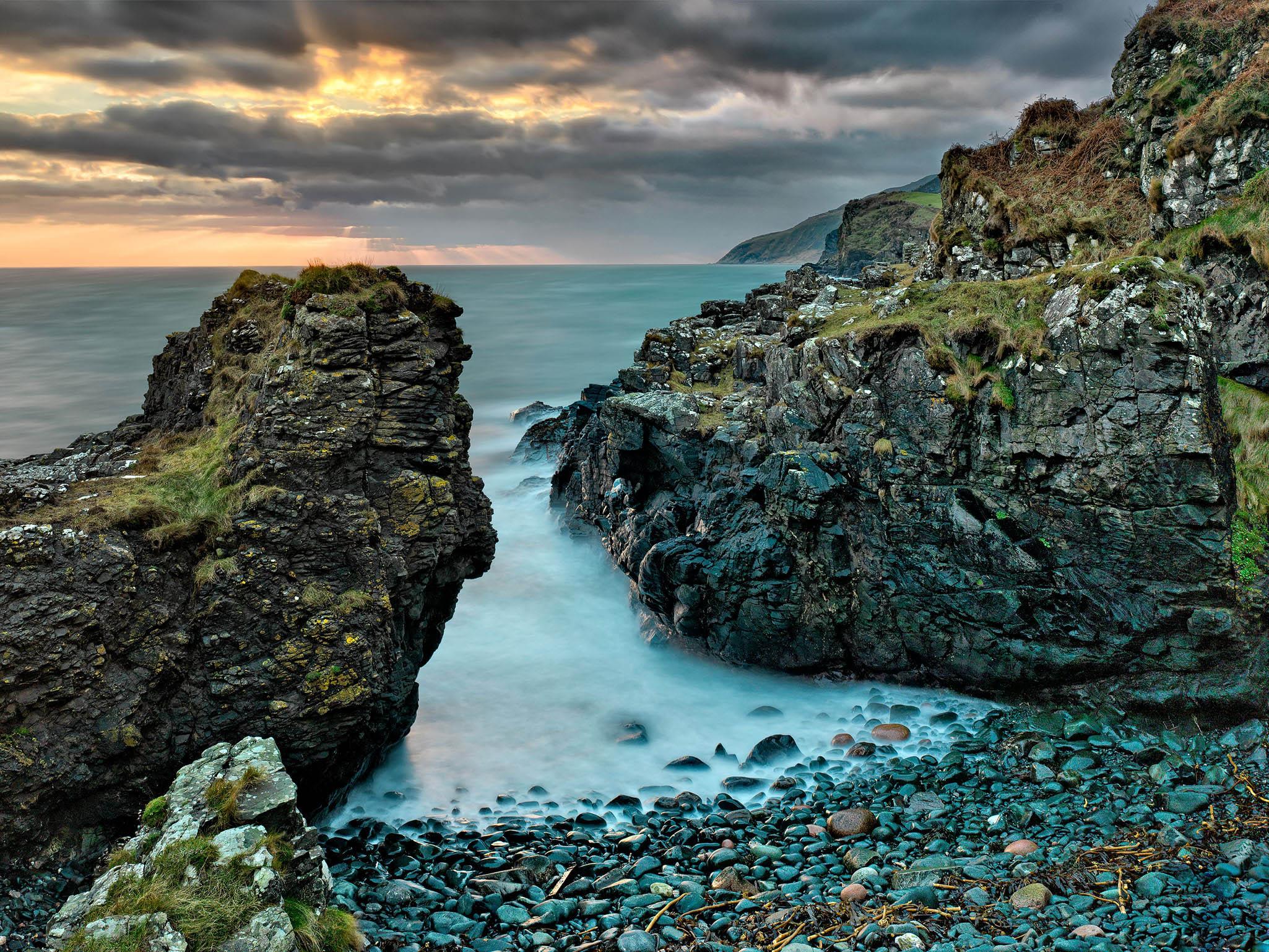 Port Aleen Bay Antrim Northern Ireland Photo