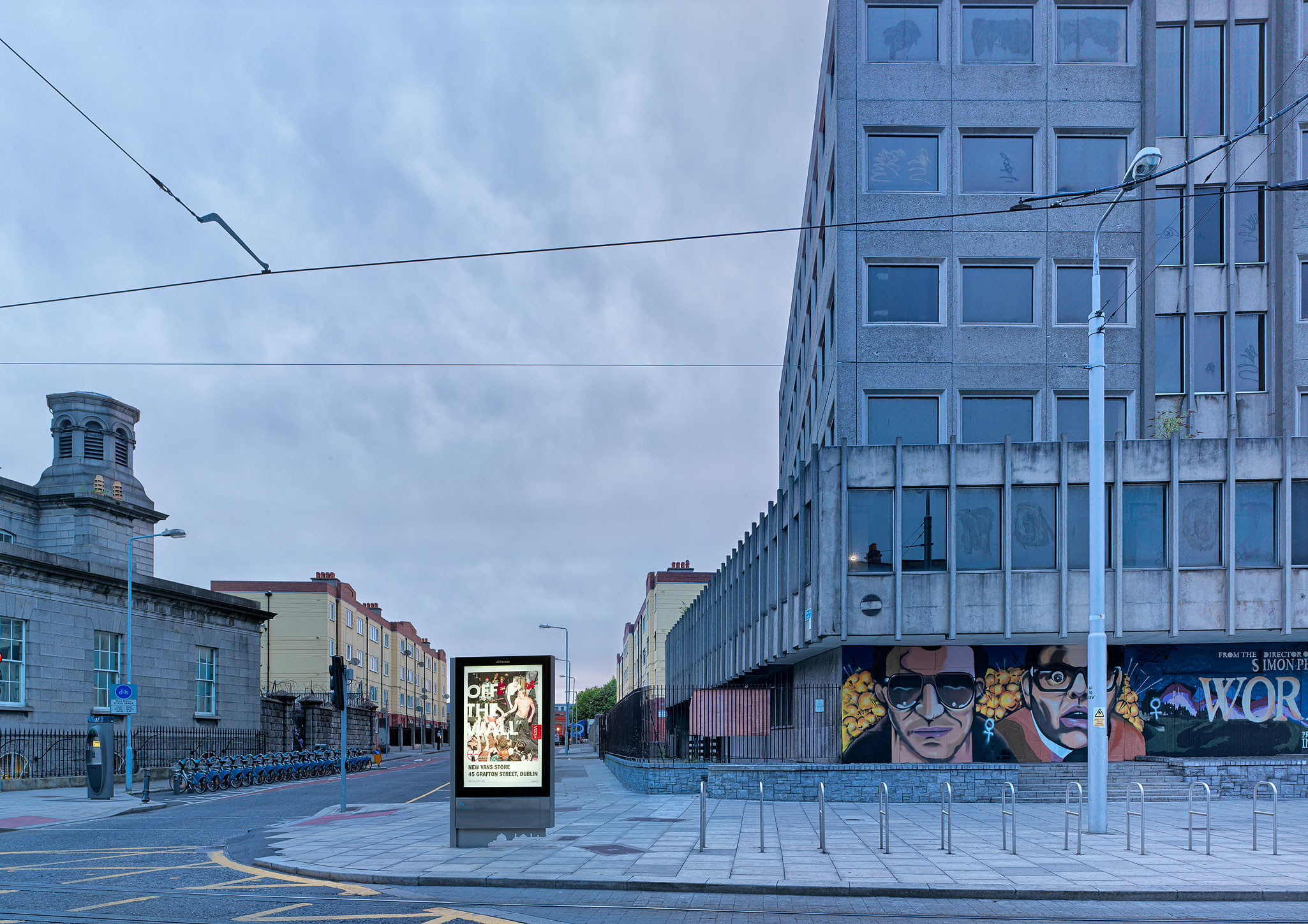 Dublin City Centre motor tax office fine art architectural photography