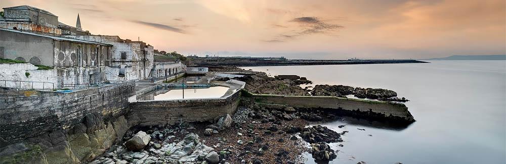 Dun Laoghaire Baths Dun Laoghaire Harbour Pier