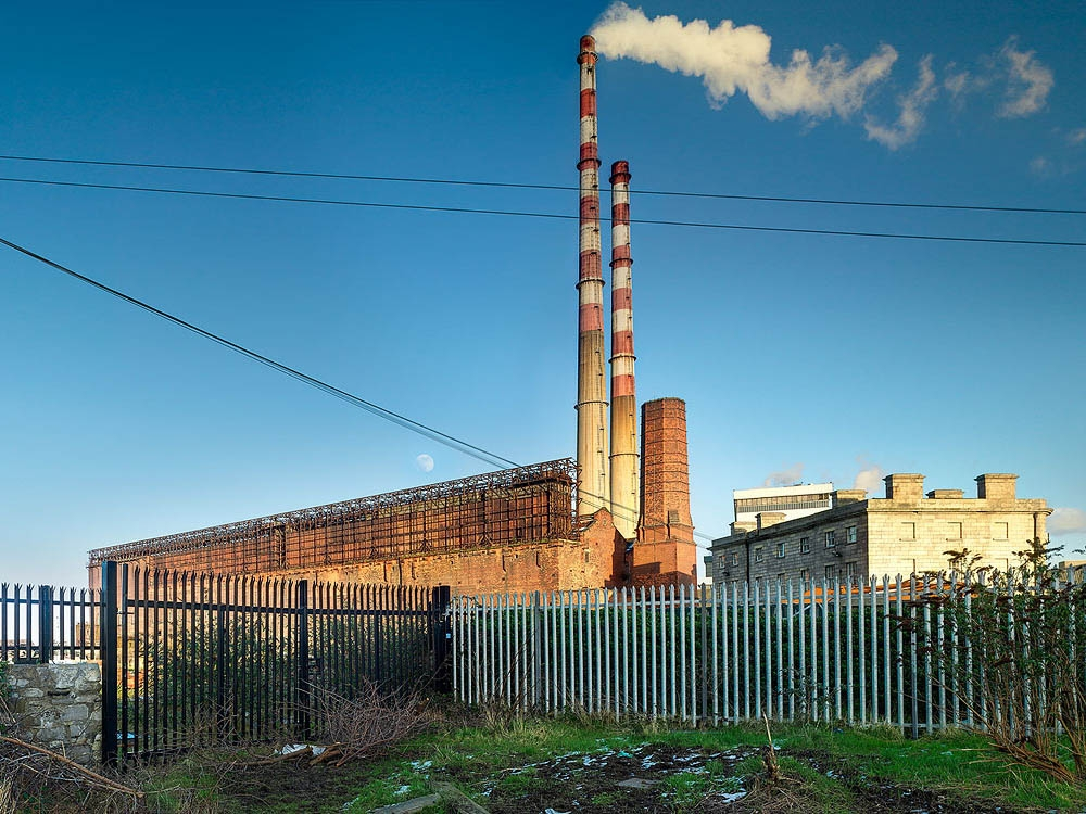 Poolbeg Power Station Pigeon House