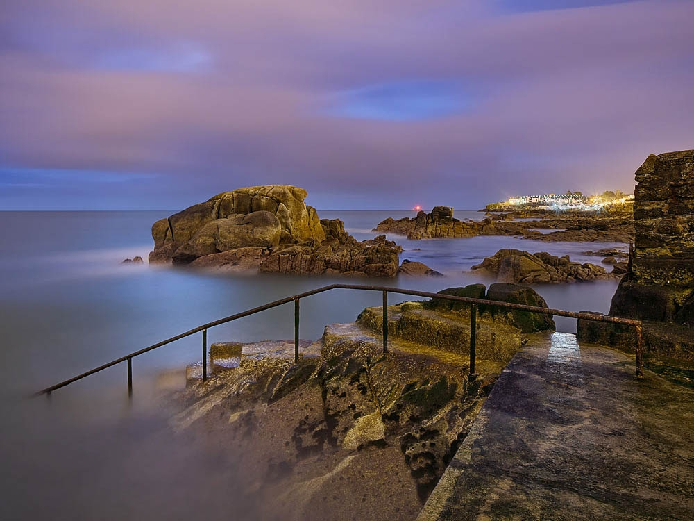 the Forty Foot sandycove, nightscape dublin photo