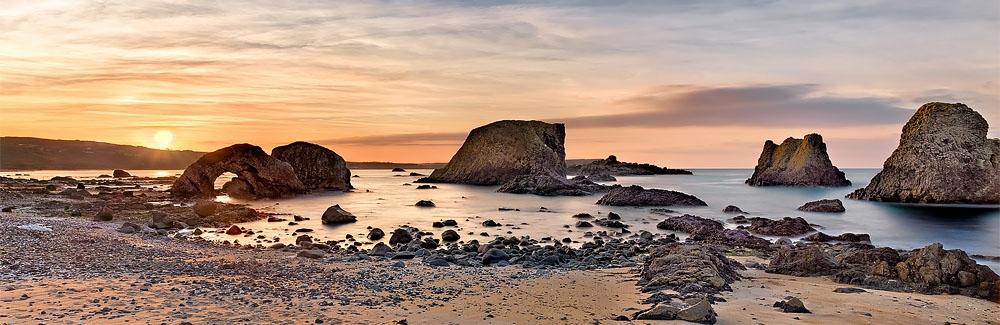 seascape photo, Ballintoy arch County Antrim
