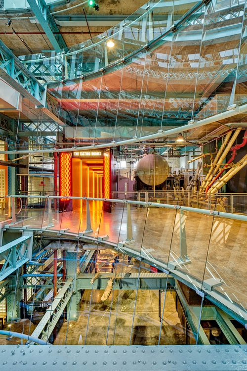 guinness storehouse atrium industrial architecture photo