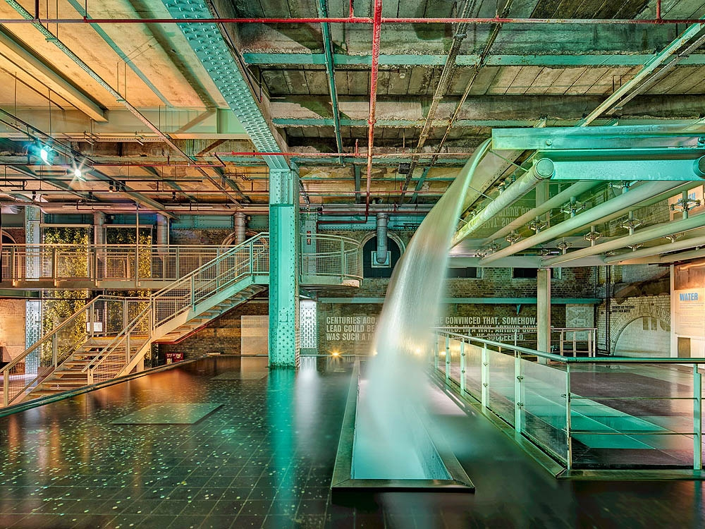 Guinness Storehouse Waterfall industrial fine art photo