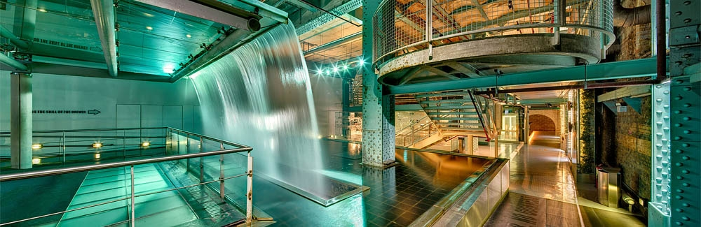 Guinness Storehouse Waterfall industrial photo