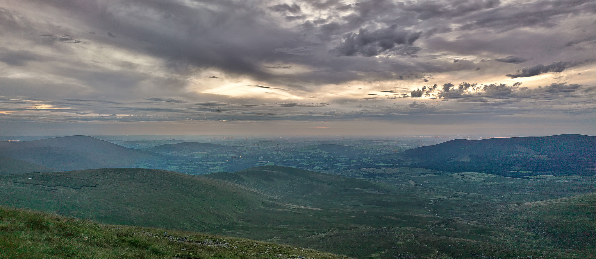 Lugnaquilla Mountain Wicklow Photo