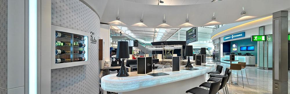 Flutes Bar Dublin Airport Terminal ssp