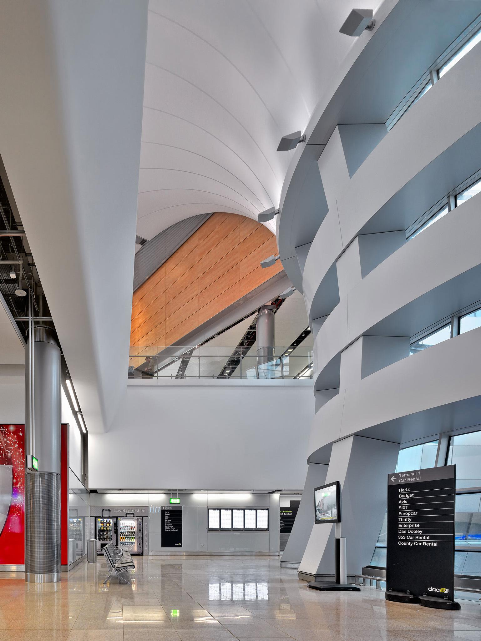 Dublin Airport Terminal 2 architectural photography dublin ...