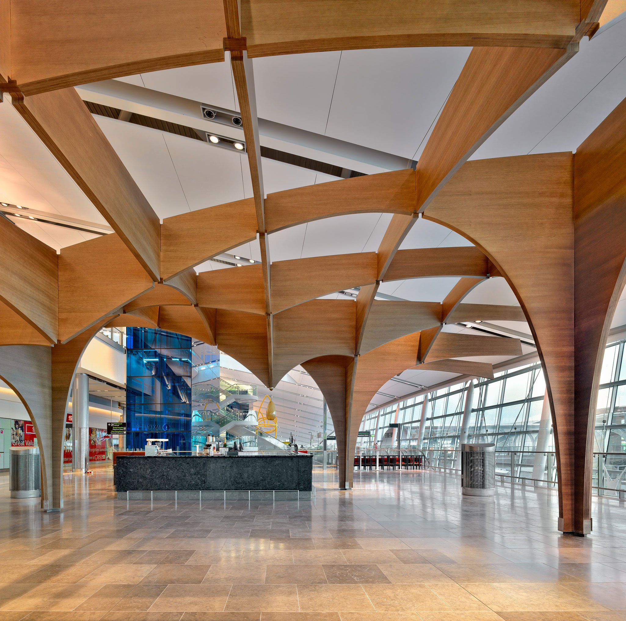 Architectural And Interior Photography: Terminal 2 Dublin Airport Architectural Interiors