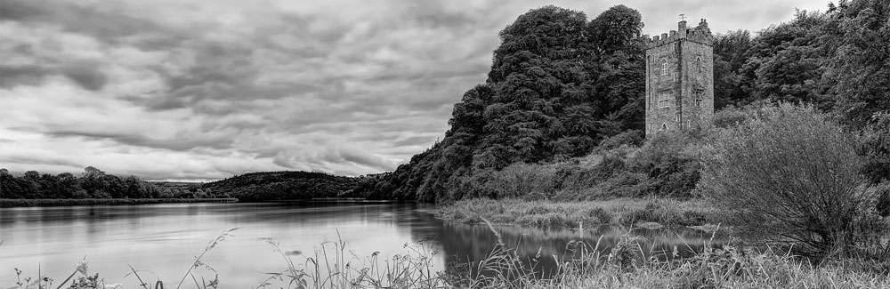 Strancally Tower river blackwater waterford