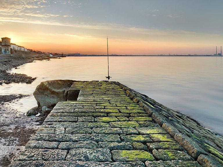 Blackrock sunset photo of Dublin