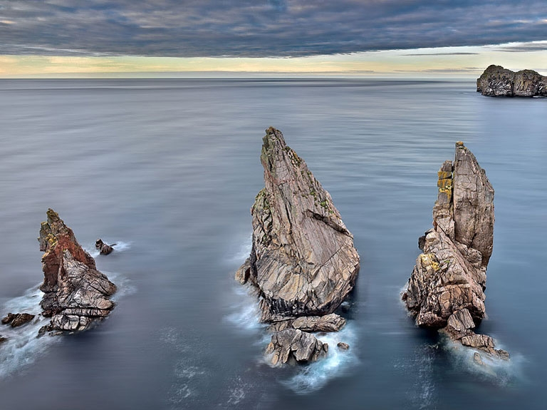 landscape photography Tory Island cliffs