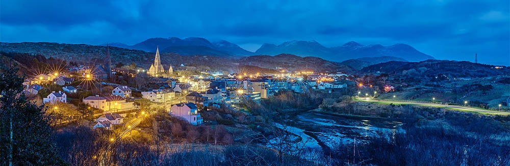 Night photo, Clifden County Galway