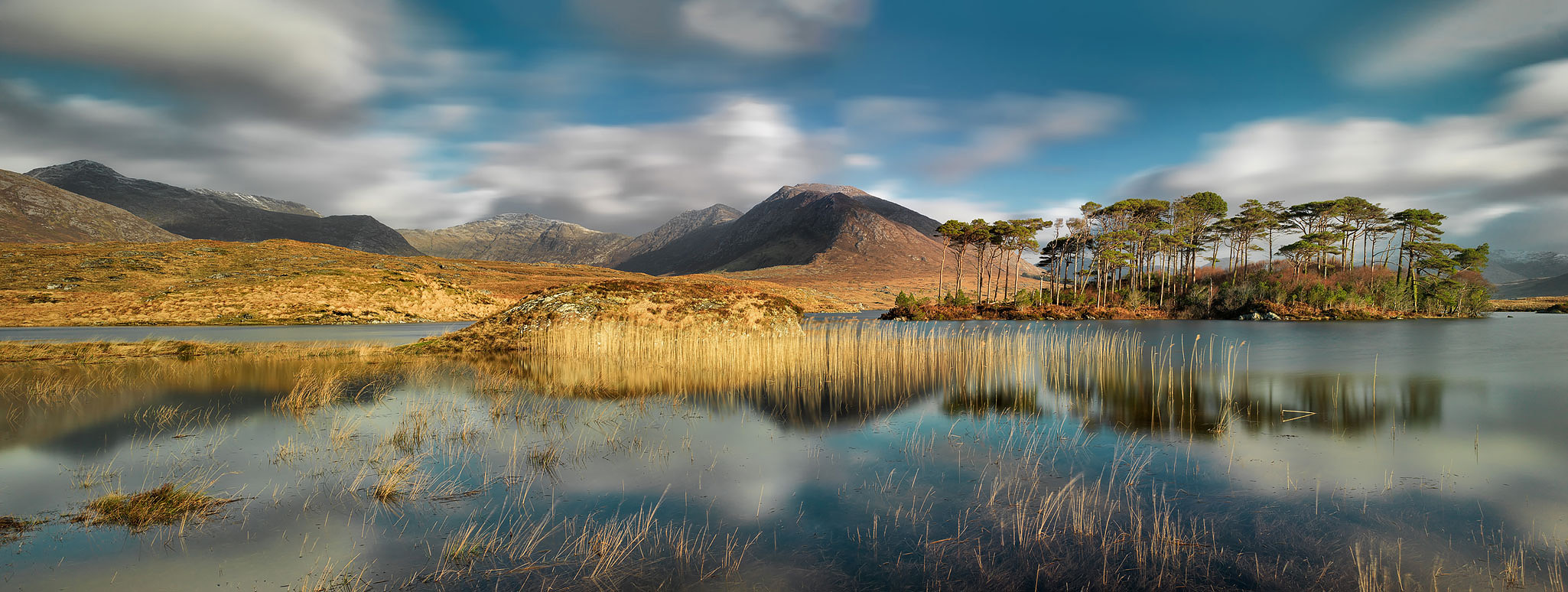 derryclare lough connemara landscape photo galway