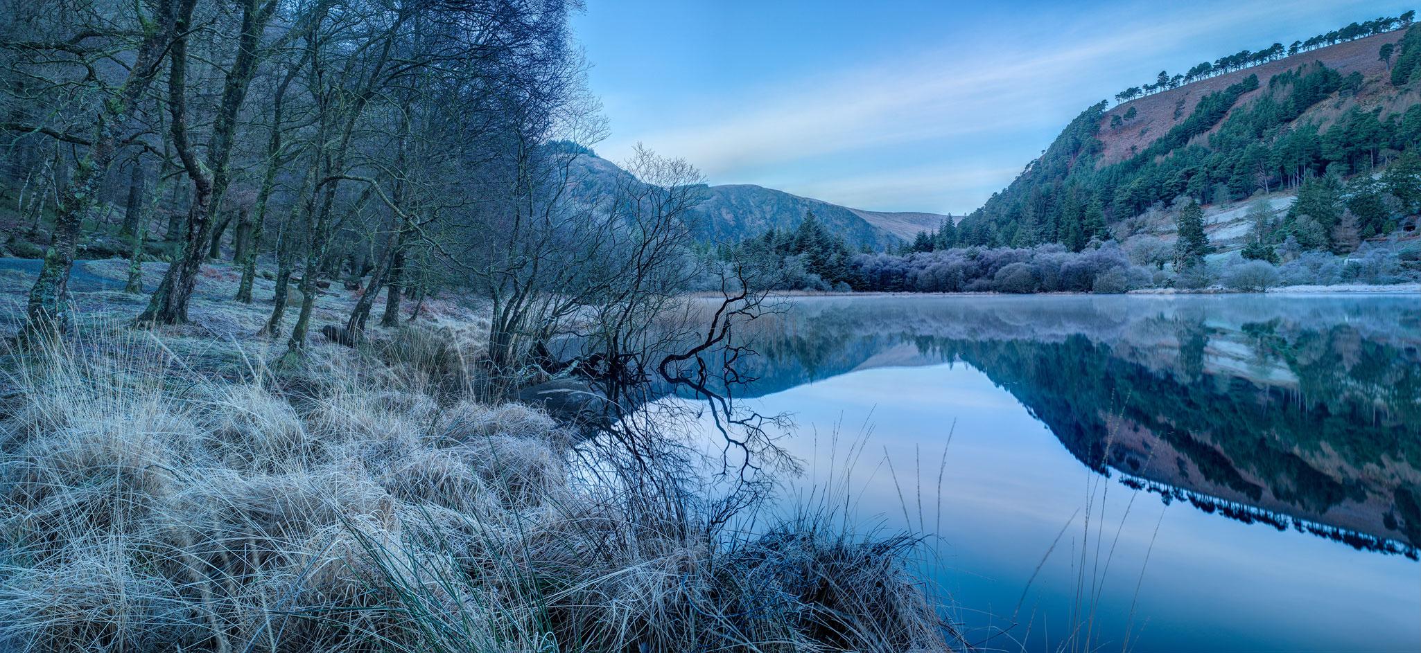 Glendalough Lower Lake, irish landscape photos