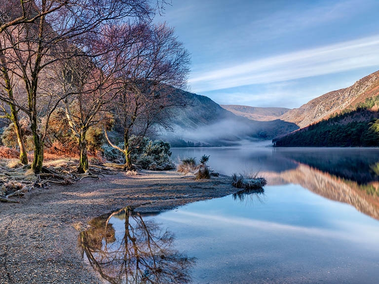 glendalough upper lake fine art prints