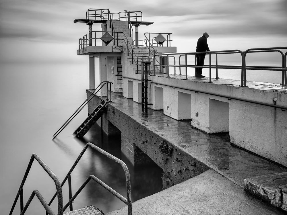 fine art photography for sale blackrock diving tower galway