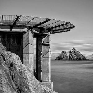 The Last Jedi, Skellig cliffs