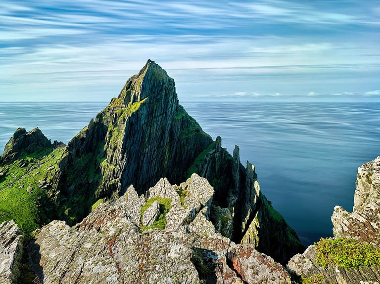 Skellig cliffs, Skellig Michael landscape photos
