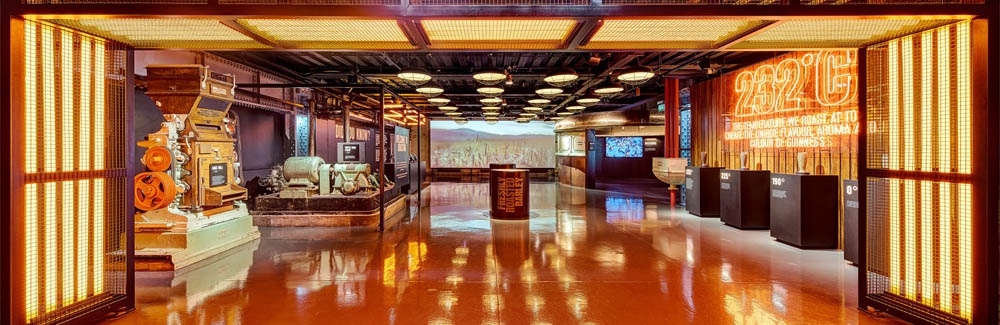 guinness storehouse Brewing Floor, commercial photographer