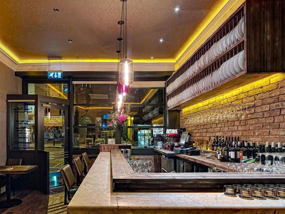 Kinara Kitchen ranelagh restaurant interiors photography