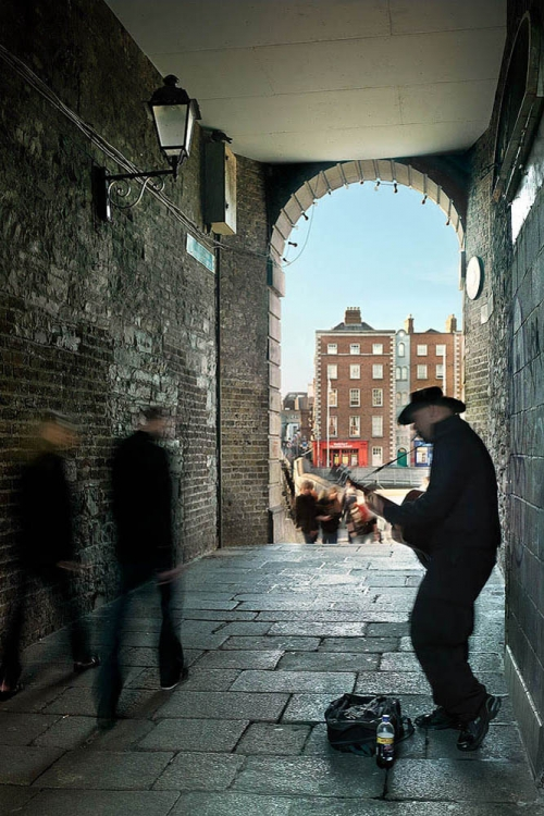 Merchants Arch temple bar dublin