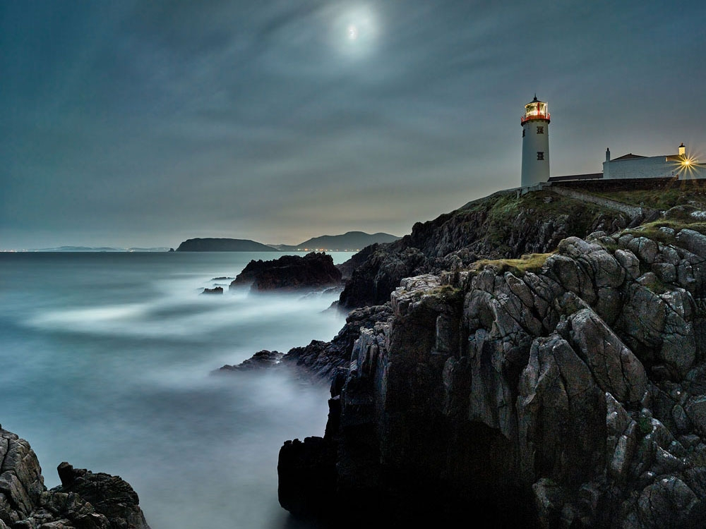 Fanad Lighthouse Donegal, Donegal seascape photo