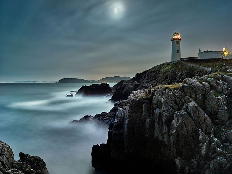 Fanad Lighthouse seascape photo Donegal seascape photo