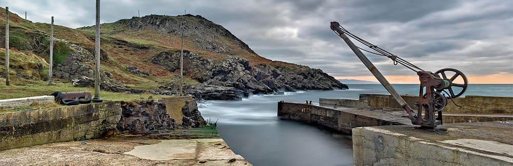 Northern Ireland Photo Port Aleen Bay