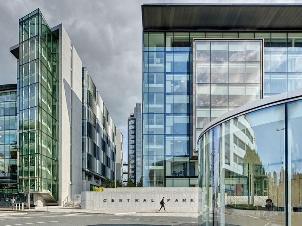 Block H Central Park Leopardstown, HJL architects