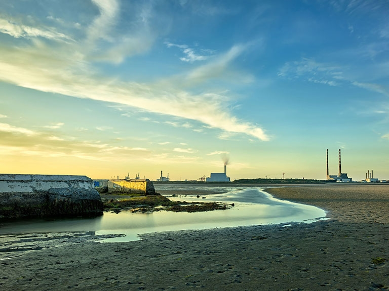 Sandymount Strand Baths: A Dublin Bay sunset